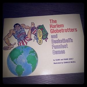 The Harlem Globetrotters 1976 Book